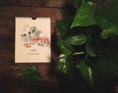 2016 Watercolor Calendar - A Year in LA With You