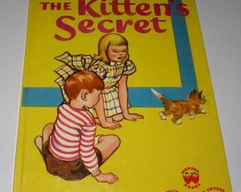 The Kitten's Secret Childrens Book dated 1950