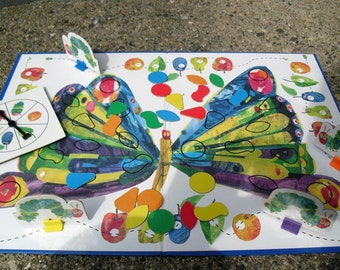 Vintage Game Eric Carle's The Very Hungry Caterpillar Game