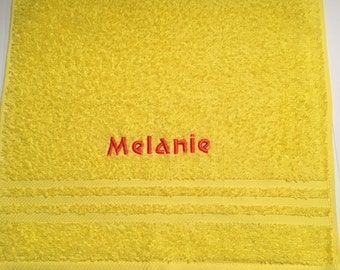 Personalized Wash Cloth