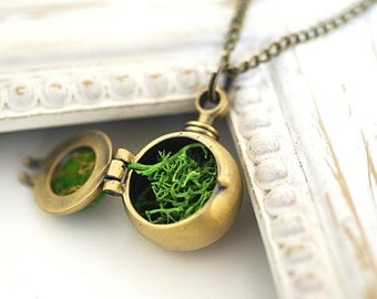 Moss Plantation Medallion Necklace