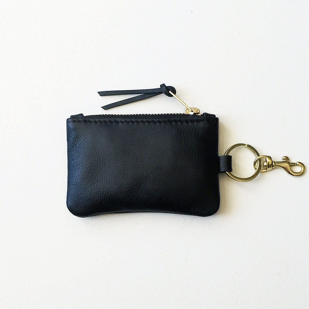 Monogrammed leather keychain wallet personalized credit card keychain coin purse leather keychain wallet keychain credit card wallet keychain id wallet magicingreecefo Gallery