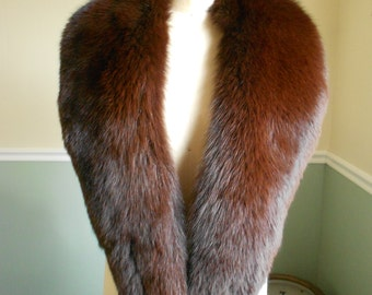 Fox Fur  Collar / Hugh Fox Scarf