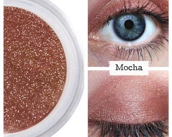 Mocha Eyeshadow, Terracotta Eye Color, For Sensitive Eyes, Loose Shimmer, Pure Pigment, Professional, Natural Eye Shadow, MUA, No Creasing