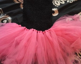 tutu dress with crochet top choice of colors sizes 4-10