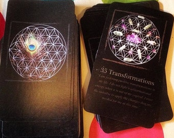 The Crystal Mandala Meditation Oracle Deck