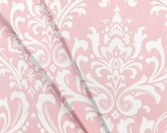 Pink Napkins Floral Damask Light Pink Wedding Table Centerpiece Fabric Pink Napkins Linens Decoration