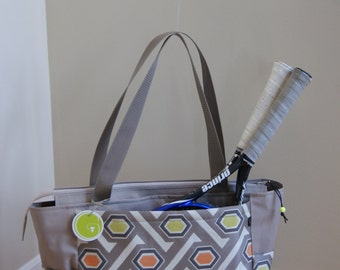 New Large Tennis Bag-Made to Order!