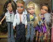 Bratz Dolls x 4. All fully dressed and with shoes. Great for B-day, Christmas or ? Gift