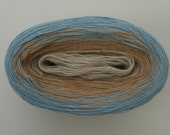 SHORE  Color Changing Cotton yarn  480 yards/100 gr  Fingering Weight