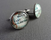 Husband Gift, Wedding Personalized Cufflinks, Valentine Gift for Men