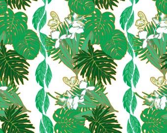 Tropical Pop Leaves