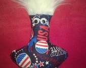 DEMOCRATIC  Dammit Doll ~ POEM Ironed onto Back