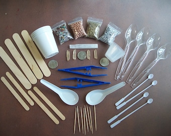 ORGONE Supplies Orgone Making Kit - X-Tra Supplies & for Orgone Pyramids - FREE Herkimer Diamonds