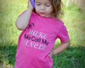 Uncle shirt  funny girls shirt youth toddler kids shirt Dont make me call my uncle
