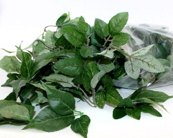 Gallon Grab Bag of Bargain ROSE LEAVES - Recycled Floral