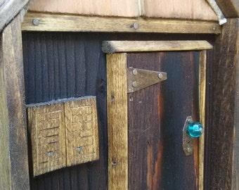 Woodland Fantasy Fairy Cottage Door