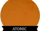 Matte Bright Orange Eyeshadow ATOMIC