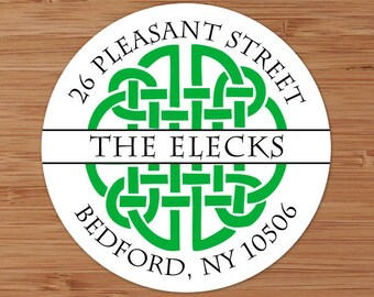 Celtic Knot - Custom Personalized Address Labels or Stickers
