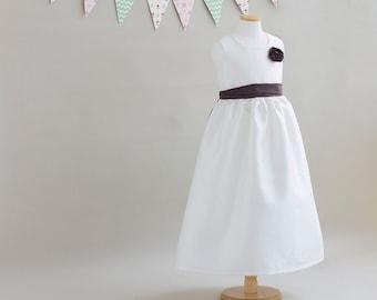 no 1080 Lucille Flower Girl Dress (3Y ~ 11Y) PDF Pattern