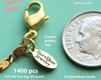 1400 oval tags  Special Offer