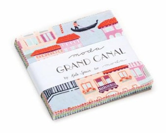 Grand Canal Charm Pack Kate Spain Moda Floral Charm Pack 27255PP
