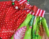 Girls Skirt Christmas