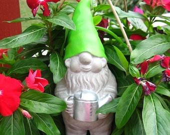 Concrete Gnome Statue / Fairy Garden Decor,Yard Art,Garden Decor,Christmas Gift