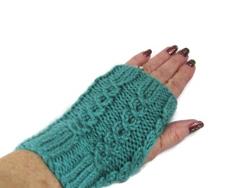 Texting Gloves, Knit Hand Warmers, Fingerless Gloves, Driving Gloves, Fingerless Mitts, Fiber Art,  Mittens, Hand Warmers, Wrist Warmers,