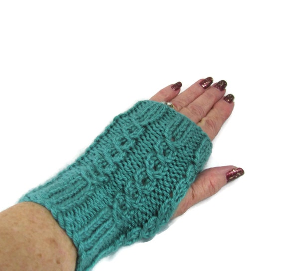 Knitting Pattern For Texting Mittens : Texting Gloves Knit Hand Warmers Fingerless by ArlenesBoutique