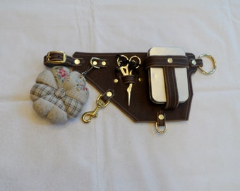 Brown Seamstress Modular Belt System Accessory