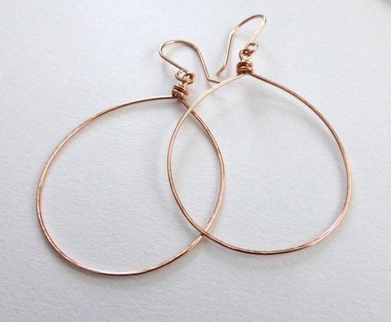 Large Hoop Earrings, Hammered Hoop Earrings, Gifts under 40, Gold Hoop Earrings, Silver Hoop Earrings, Handmade Hoop Earrings by m. frances