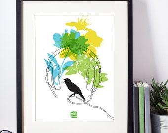 Carococo / Spring Break 12x18 / Giclée sur papier St-Gilles
