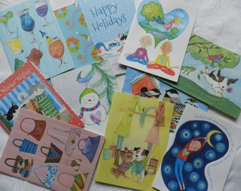 Greeting Cards - Choose any 4