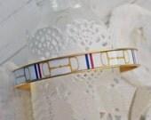Women's Equestrian Bangle Bracelet - Gold HorseBit