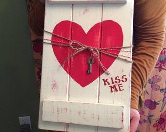 Valentine  Pallet Home Decor