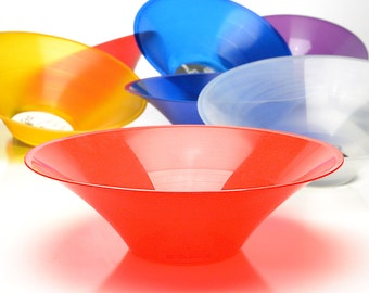The Translucent Red GrooveBowl