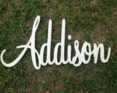 Unfinished Wood letters, Name ready to DIY 4inches up to 12inches Can be made in almost any font, Choose quantity/size at checkout
