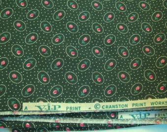 """Cranston VIP Print - Cotton Small Print - 44"""" Wide - Selling by the Half Yard"""
