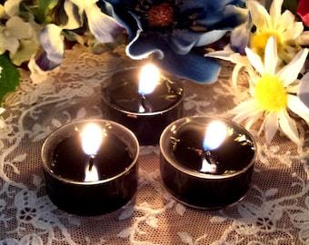 3 Banishing Tea Lights