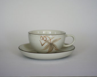 vintage winfield passion flower cup and saucer