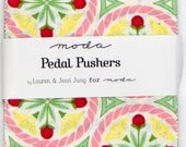 "Pedal Pushers by Lauren & Jessi Jung for Moda - 100% Cotton - 42 / 5"" Square Charm Pack"