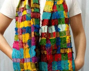 FREE Silk Scarf Pattern w Purchase of Silk Sari Ribbon