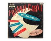 "Ladislav Sutnar 10-inch record album design, 1949. Frankie Carle ""Piano Magic"" LP"