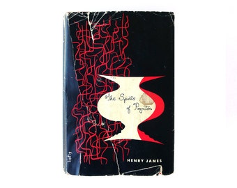 """Alvin Lustig book jacket design, 1943. """"The Spoils of Poynton"""" by Henry James [New Directions, New Classics] NC6"""