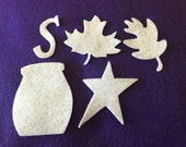 Felt Starter Pack for Wax Dipping-DIY Kits for Independent Consultants- Parties-Decorations-Costume Embellishments-For Customer Wax Samples