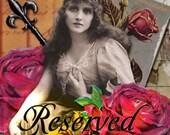 Reserved for Jolanta