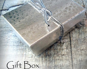Gift Box, Small Size, Add a Gift Box To Your Jewelry Purchase