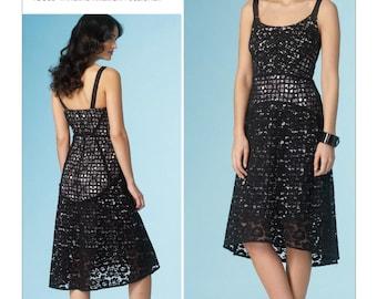 Pick Your Size - Vogue Dress Pattern V1447 by TRACY REESE - Misses' Sleeveless Shaped-Yoke Dress - Vogue American Designer Patterns