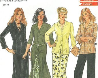 ON SALE New Look Separates Pattern 6033 - Misses' Pants, Skirt, Top and Dress - SZ 6/8/10/12/14/16